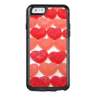 Süßigkeits-Herzen in Folge OtterBox iPhone 6/6s Hülle