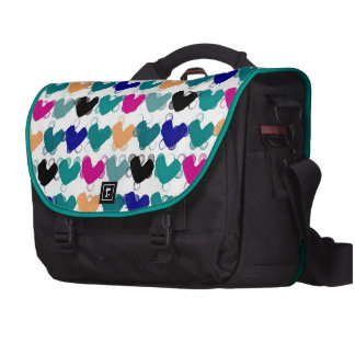 Süßigkeits-Herzen Notebook Taschen