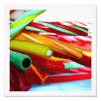Süßigkeits-Kabel Kunst Foto