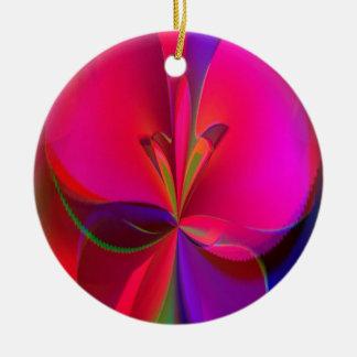 Süßigkeits-Klee Keramik Ornament
