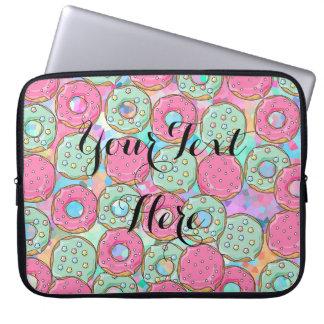Süßigkeits-Krapfen Prinkles - Schablone für Ihren Laptop Sleeve