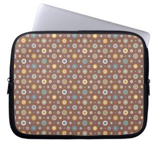 Süßigkeits-Kreise Laptop Sleeve
