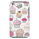 Süßigkeits-Kuchenmuster des kleinen Kuchens süßes Barely There iPod Hüllen