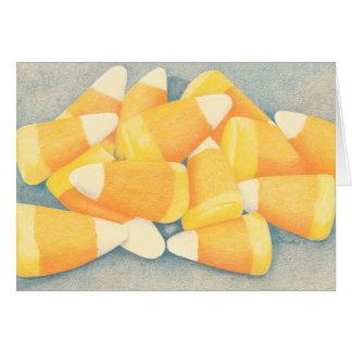 Süßigkeits-Mais Karte