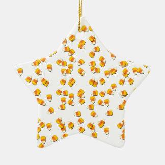 Süßigkeits-Mais Keramik Stern-Ornament