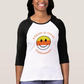 Süßigkeits-Mais-smiley Tshirt