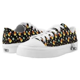 Süßigkeits-Mais und Stern-Turnschuh Niedrig-geschnittene Sneaker