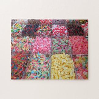 Süßigkeits-Markt Puzzle
