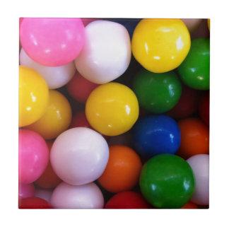 Süßigkeits-Regenbogen-bunte Keramikkacheln
