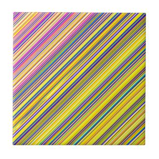 Süßigkeits-Streifen-Fliese