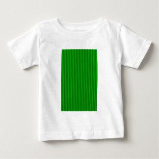 Süßigkeits-Streifen grünen die MUSEUM Zazzle Baby T-shirt