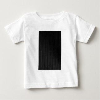 Süßigkeits-Streifen schwärzen die MUSEUM Zazzle Baby T-shirt