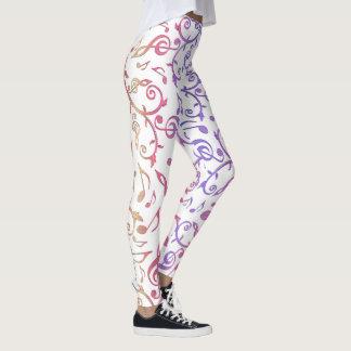 Süßigkeits-überzogene blühende leggings