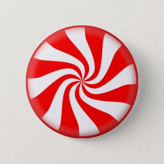 Süßigkeits-Weihnachtsbilder Runder Button 5,7 Cm