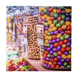 Süßigkeits-Zerstampfung Kleine Quadratische Fliese