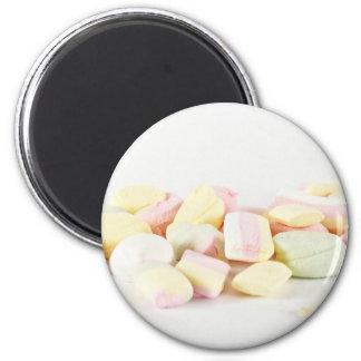 Süßigkeitseibische Runder Magnet 5,7 Cm