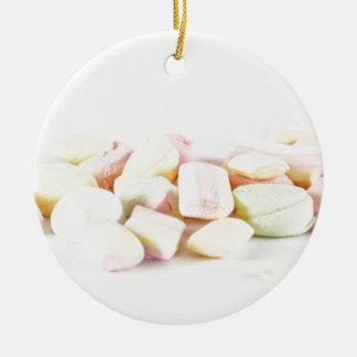 Süßigkeitseibische Rundes Keramik Ornament