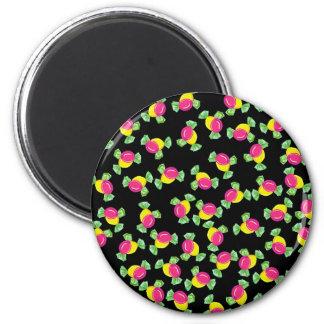 Süßigkeitsmuster Runder Magnet 5,7 Cm