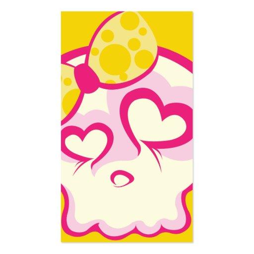 Süßwarenladen-Schädel-Visitenkarte