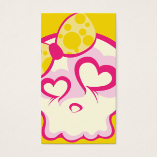 Süßwarenladen-Schädel-Visitenkarte Visitenkarten