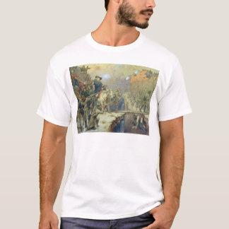 Suvorov, welches die Brücke des Teufels im Jahre T-Shirt