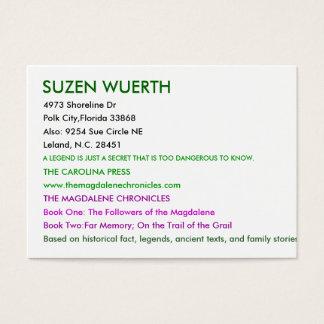 SUZEN WUERTH, 4973 Küstenlinie-Dr., Polk-Stadt, Visitenkarte