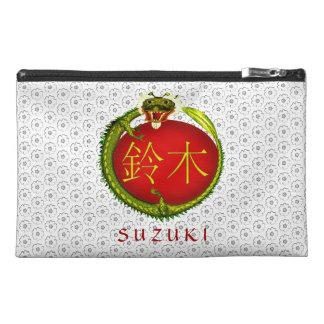 Suzuki-Monogramm-Drache Reisekulturtasche