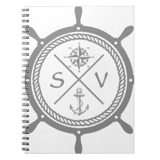 SV3 SPIRAL NOTIZBLOCK