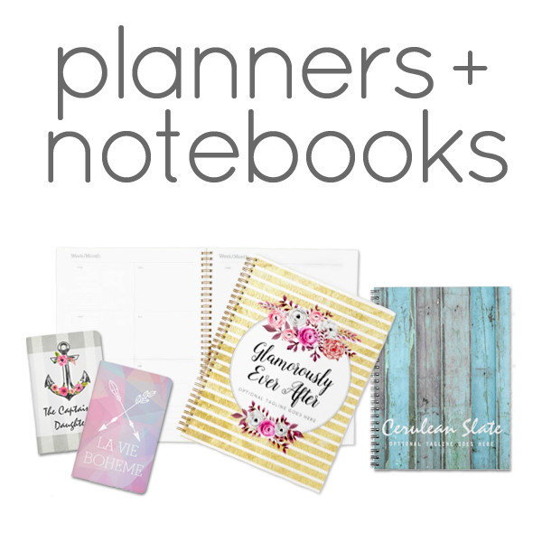 Planners + Notebooks