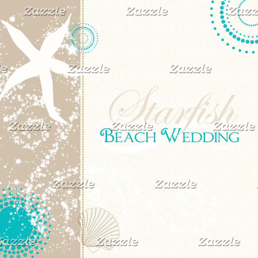 ♥ Starfish Beach Wedding