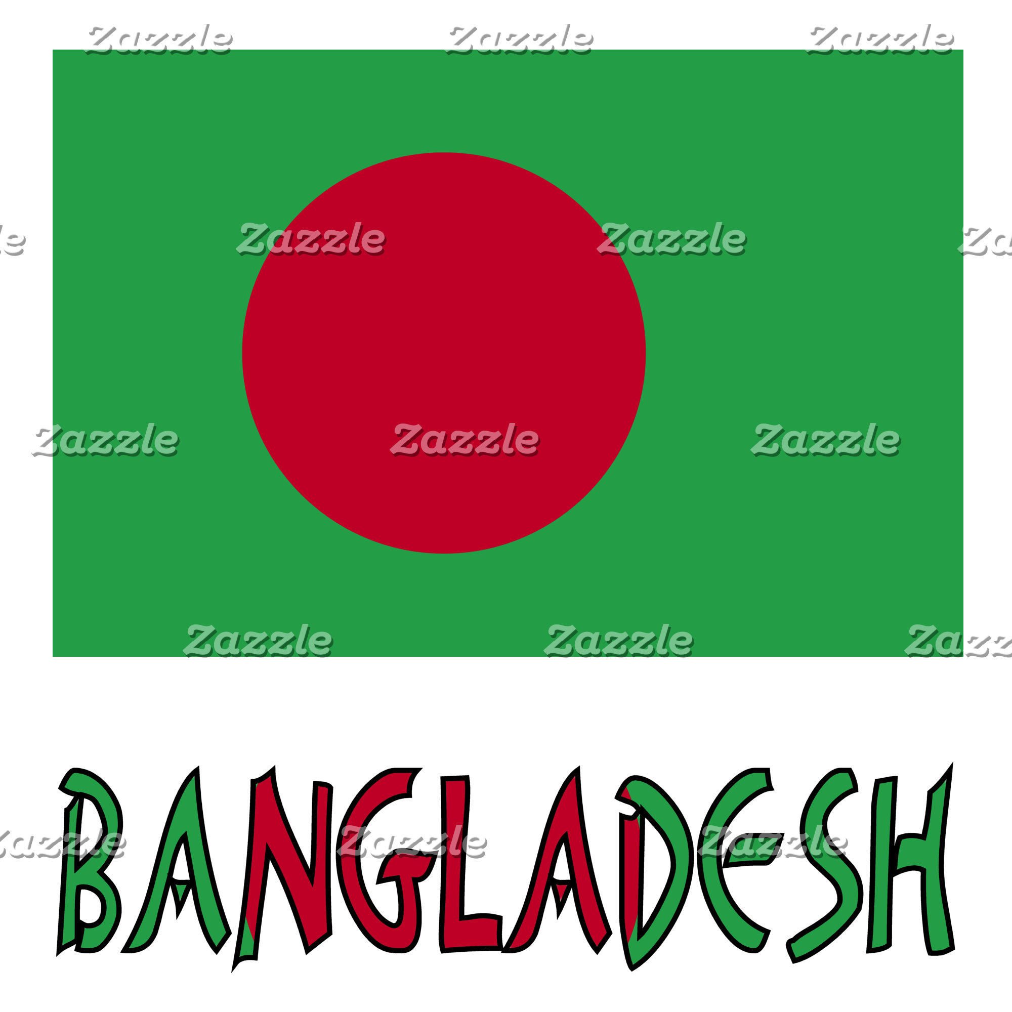 Bangladeshi Flag and Bangladesh