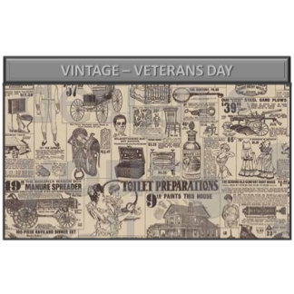 Vintage - veterans day