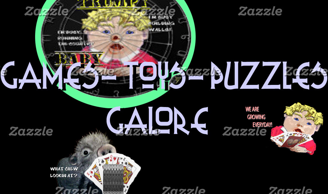 Games-Toys-Puzzles Galore