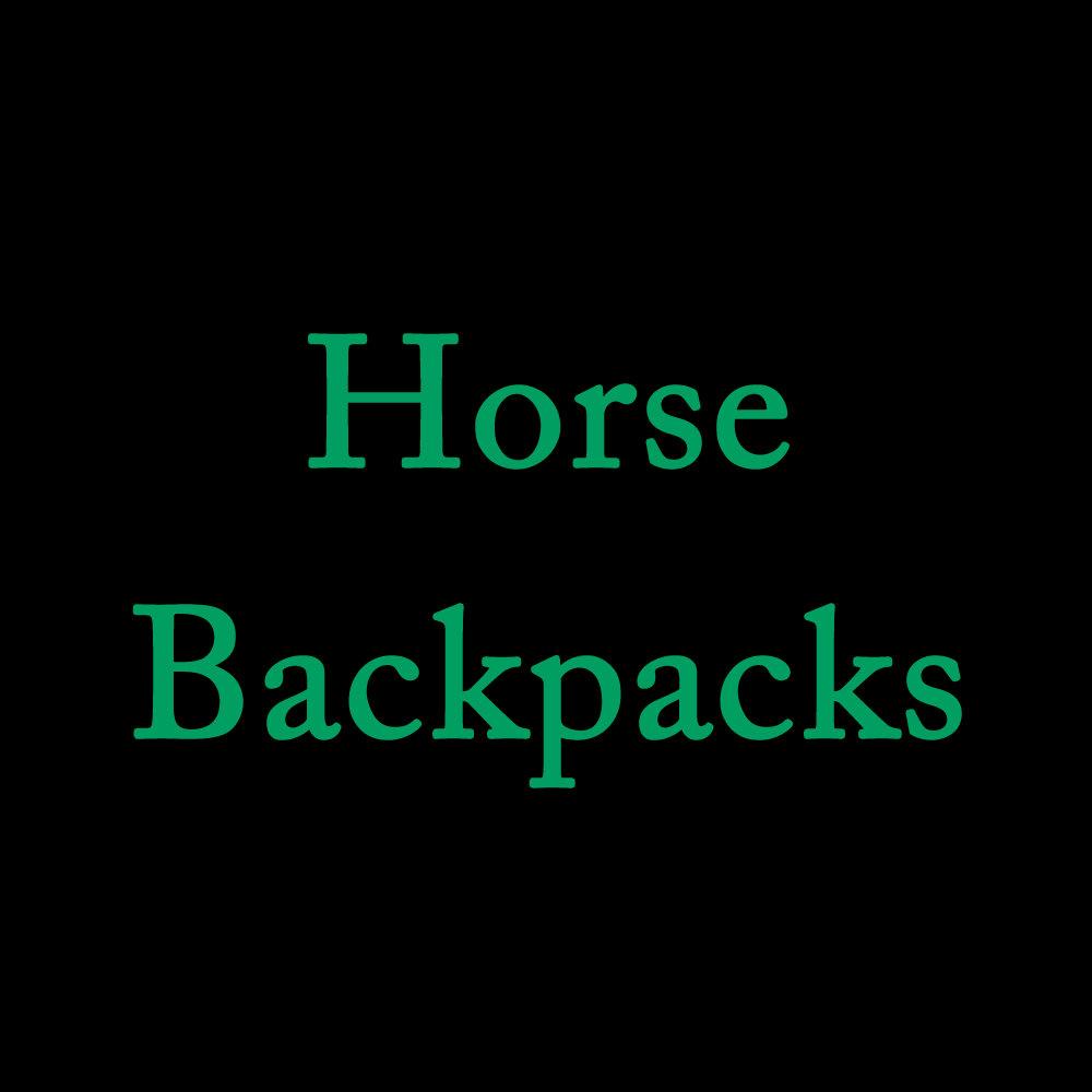 Horse Backpacks