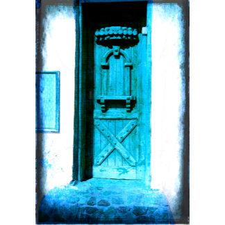 Old Blue Door