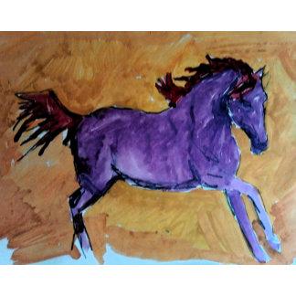 Lila Mustang