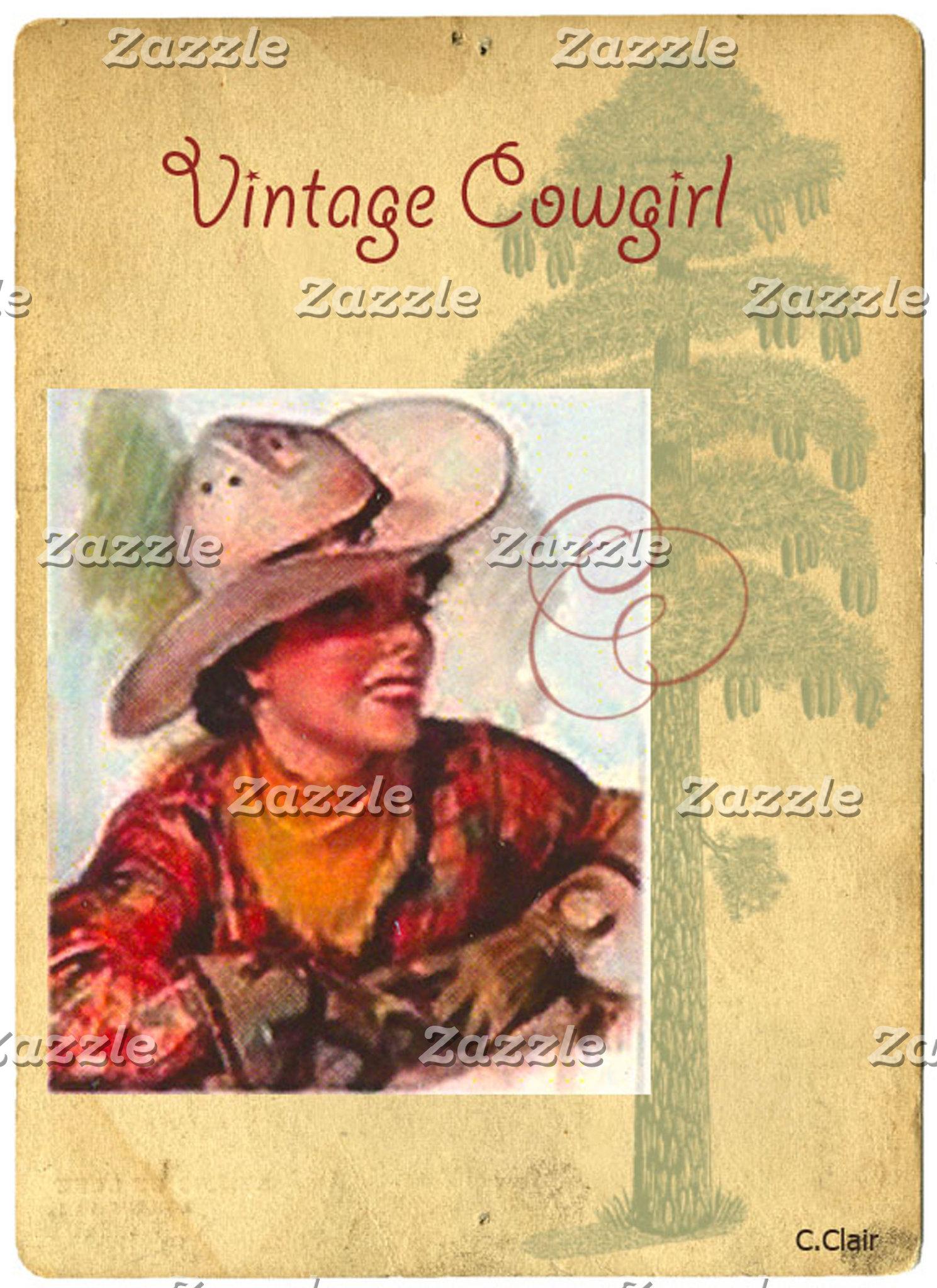 Western Vintage Cowgirls Part 1