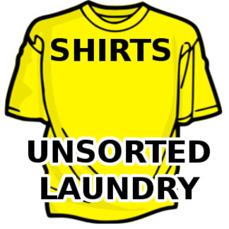 Shirts - Unsorted Laundry