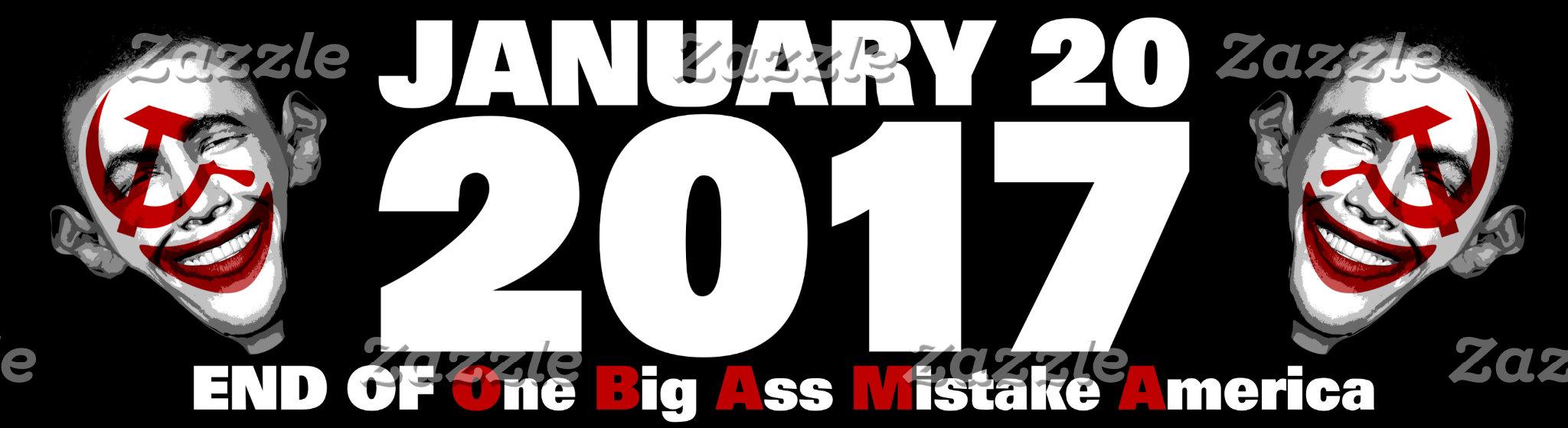 Anti obama   January 20, 2017