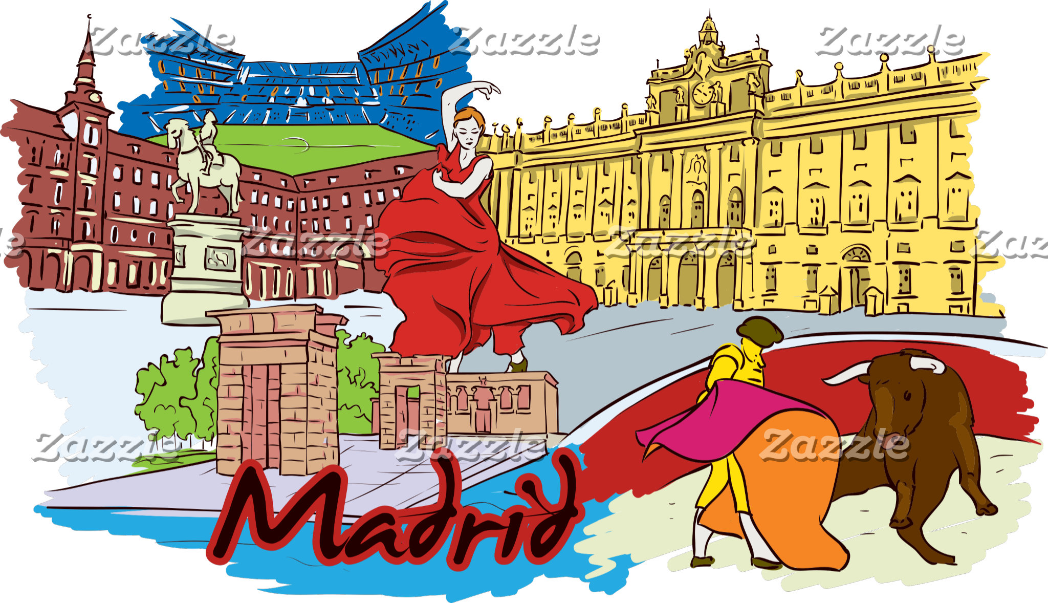 Famous Cities Postcards and Gifts