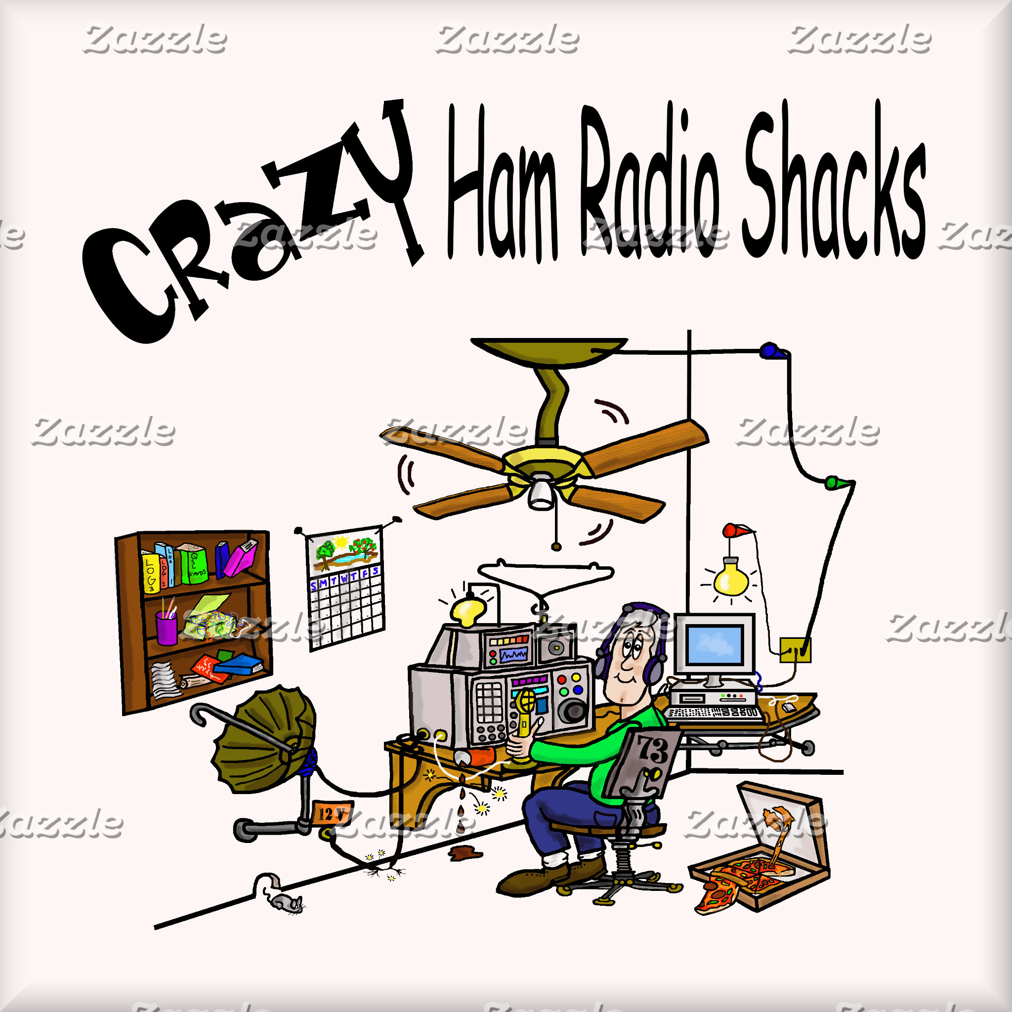 CRAZY HAM RADIO SHACKS