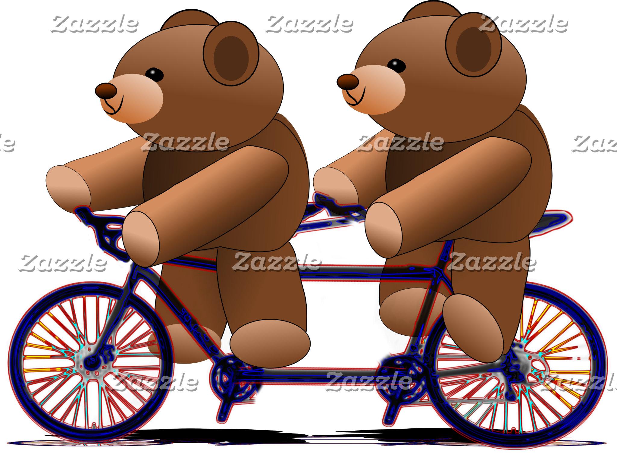 Teddy Bear Tandem