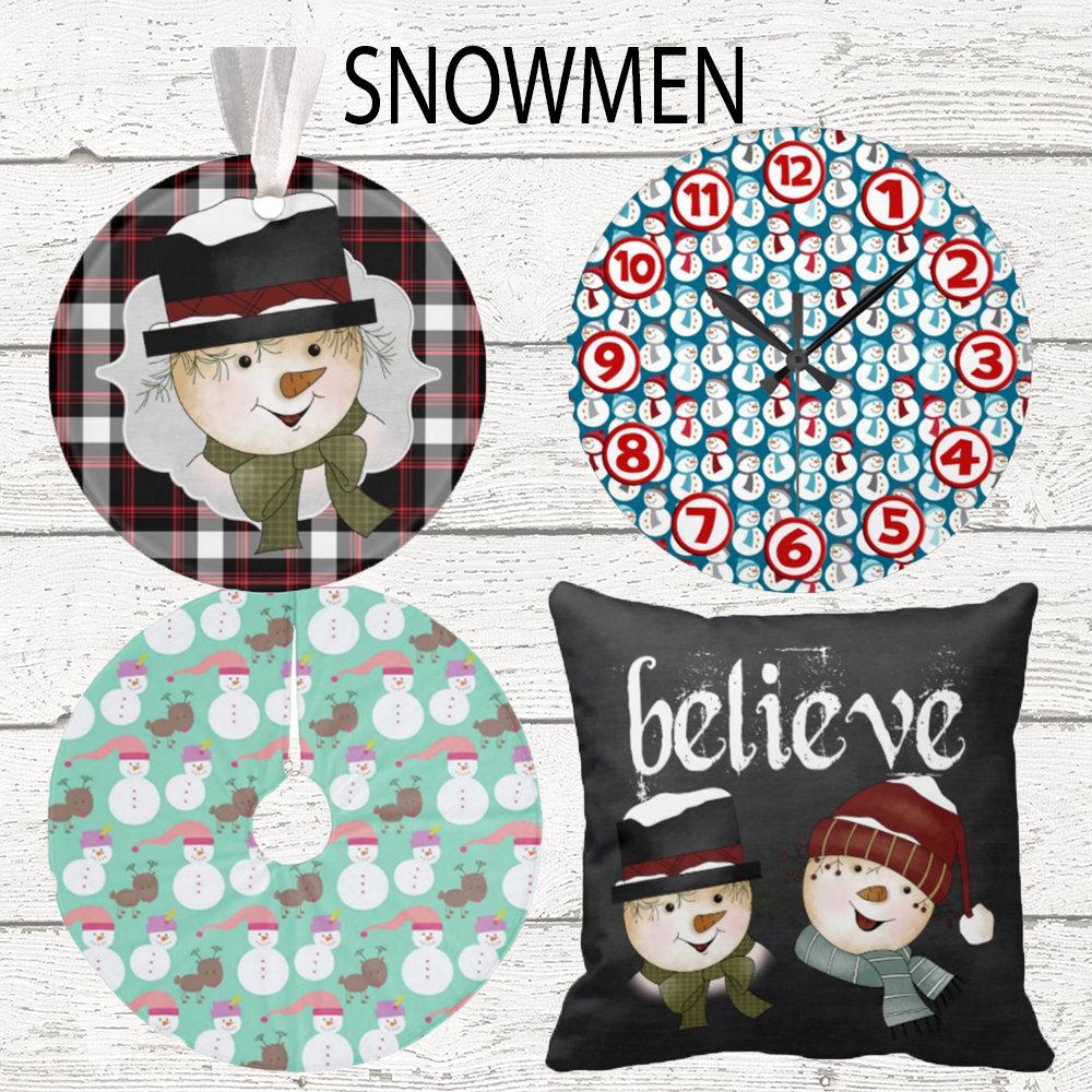 Christmas Snowmen