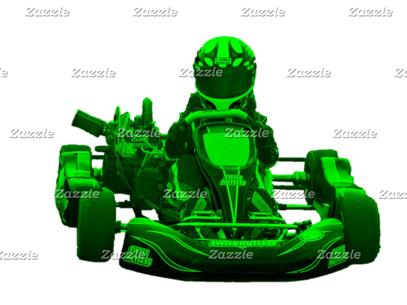 Kart Racer in Green