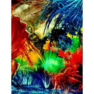 Design multicolored and black