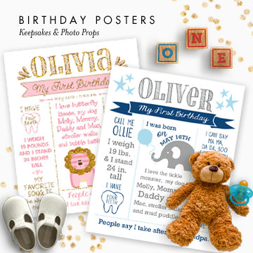 Birthday Posters