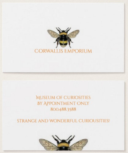 Bee Designs Business Cards Profile Cards