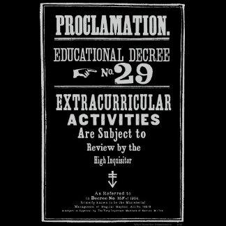 Proclamation 29