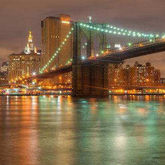 A panorama of the New York City skyline