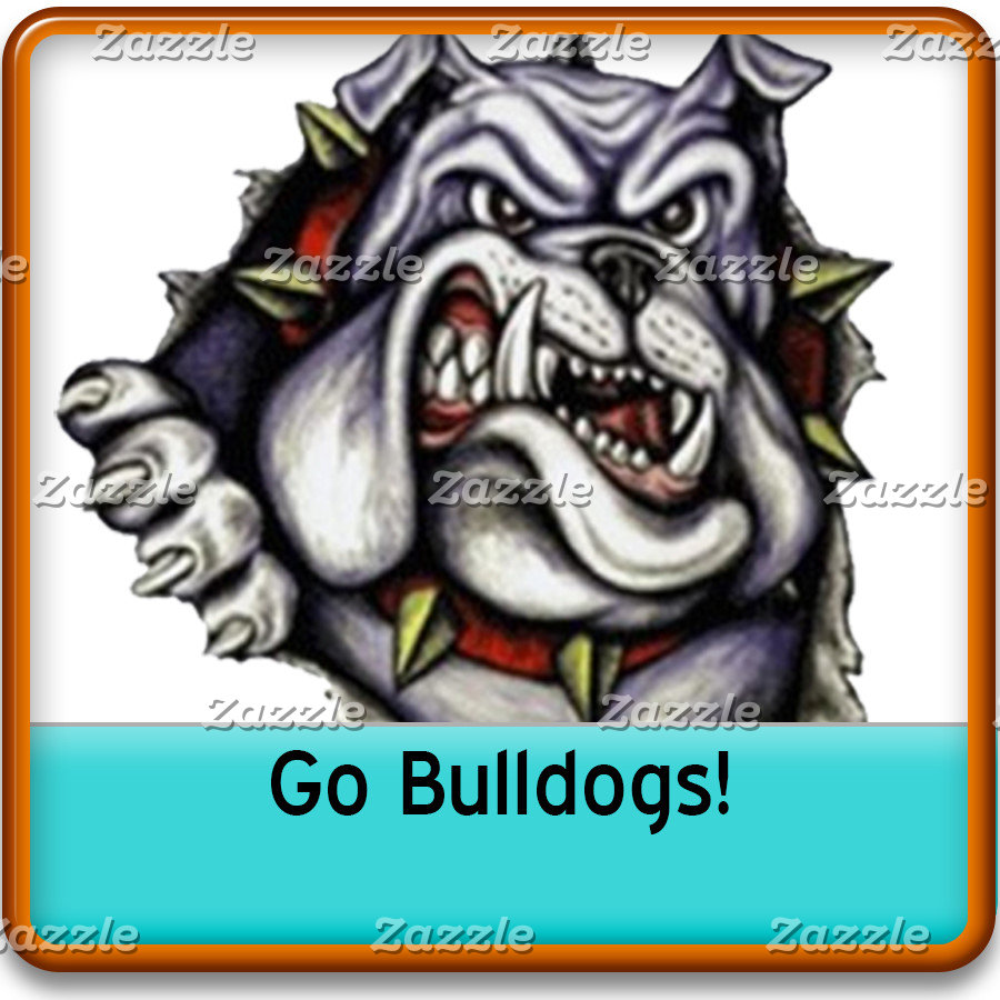 Bulldogs Grade School, College, High School Mascot